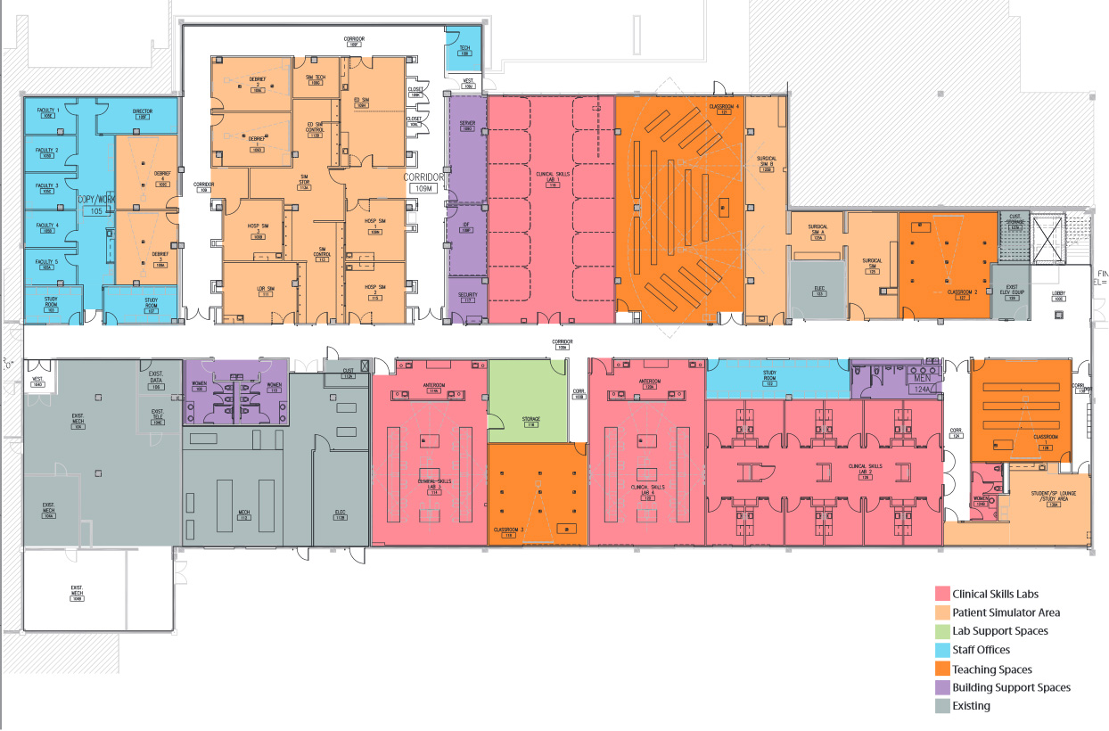 CSCLV Floor Plan