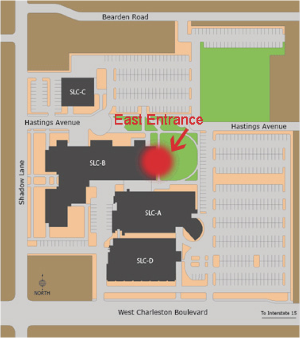 Umc Campus Map.Map Directions And Parking Clinical Simulation Center Of Las Vegas